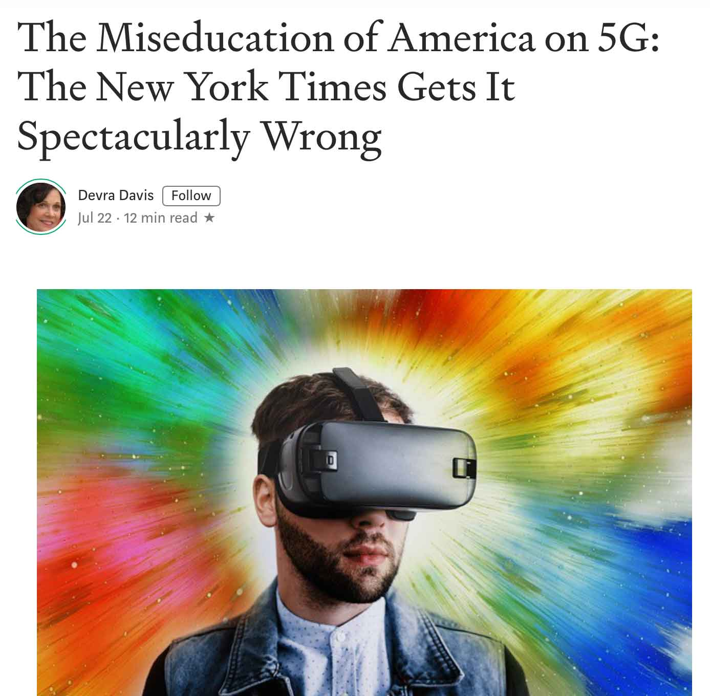 The Miseducation of America on 5G: The New York Times Gets It Spectacularly Wrong