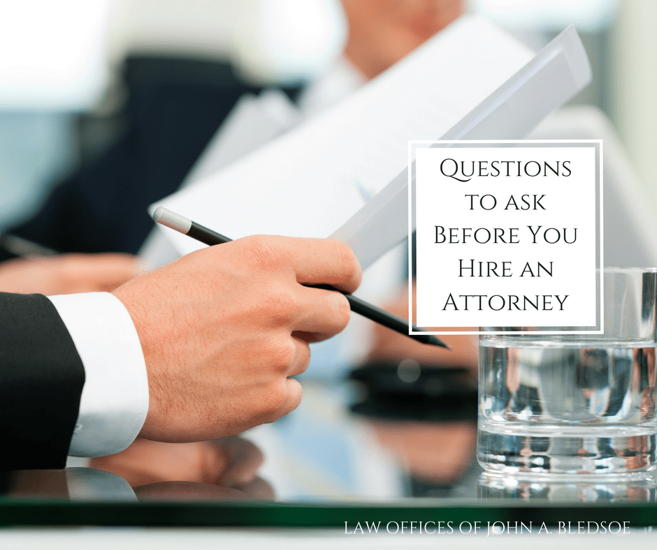 Questions to ask before you hire a divorce lawyer