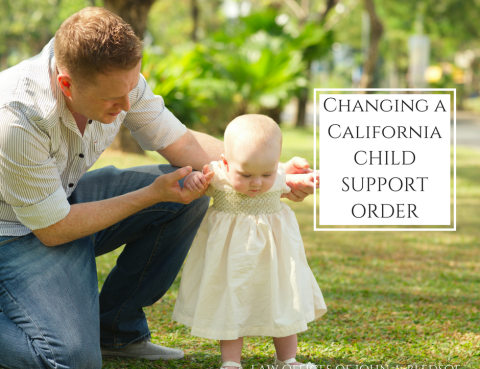 Four reasons you may eligible to reduce your child support order