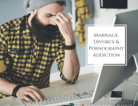Marriage Divorce and Pornography Addiction