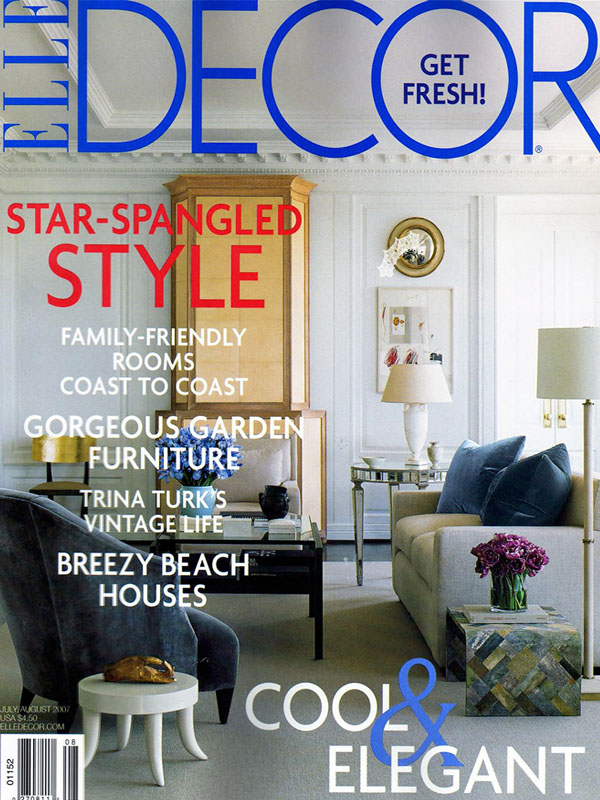 Elle Decor July 2007