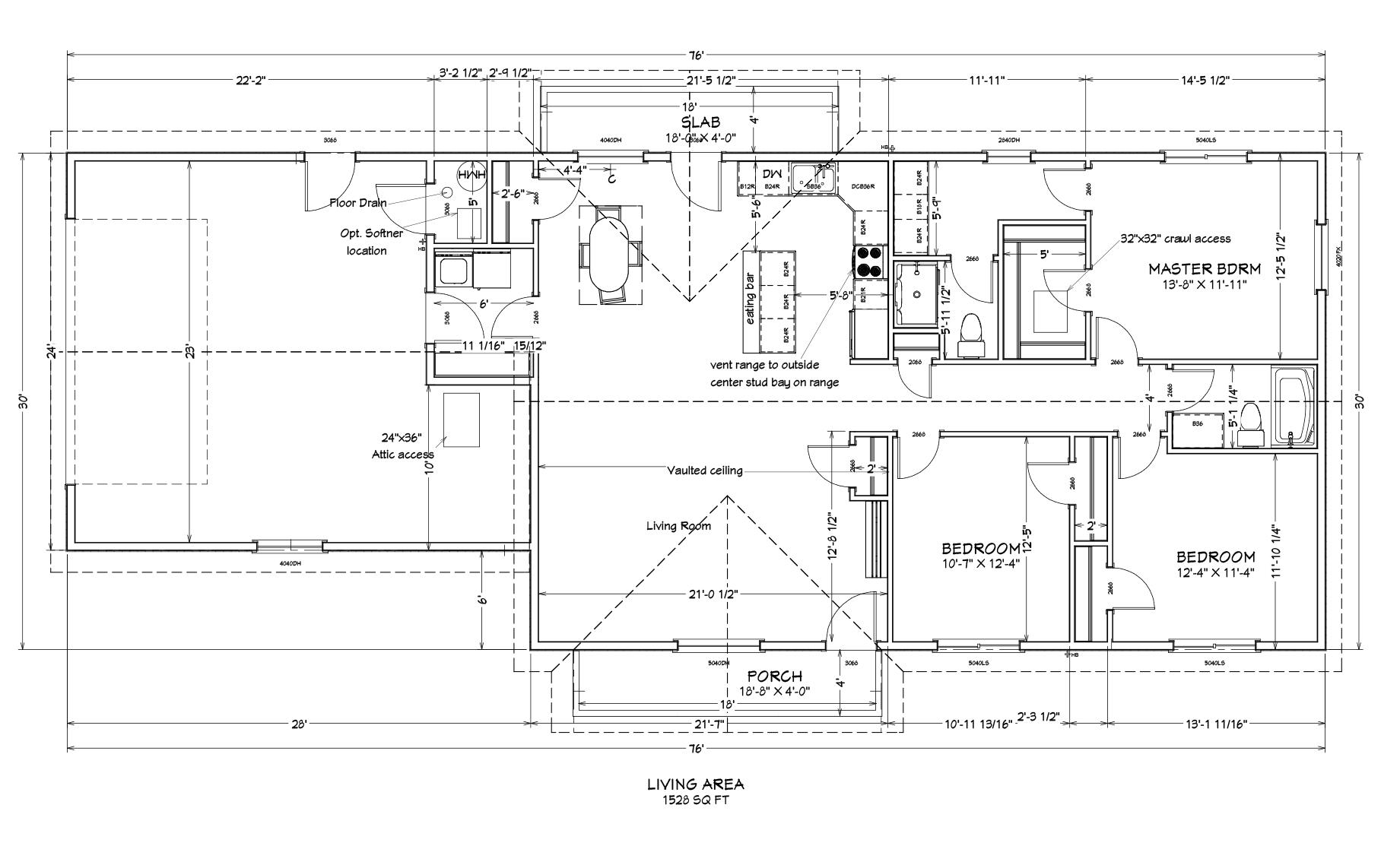 Turquoise Floor Plan