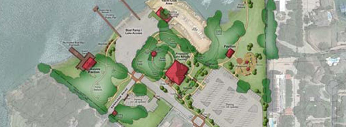 City of Arlington Richard Simpson Park Lake House