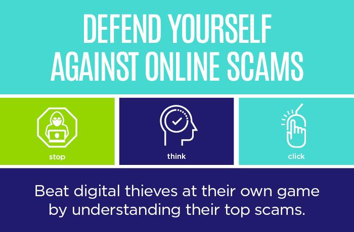 Top 5 internet scams 700x460