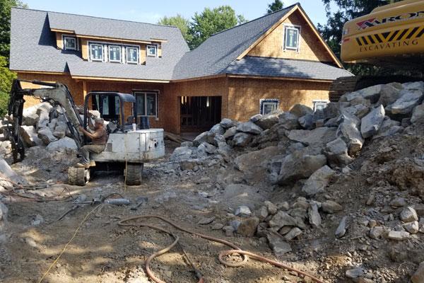driveway excavation demolition blasting nj