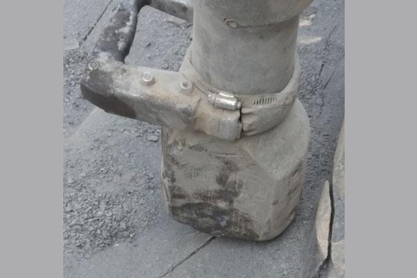 edge of wall cut rock cutting splitting nj