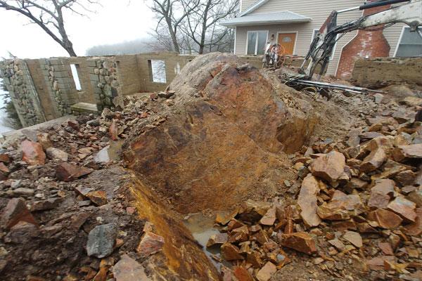 rock removal foundation nj