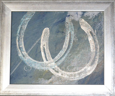Lovely Horseshoes-Sold