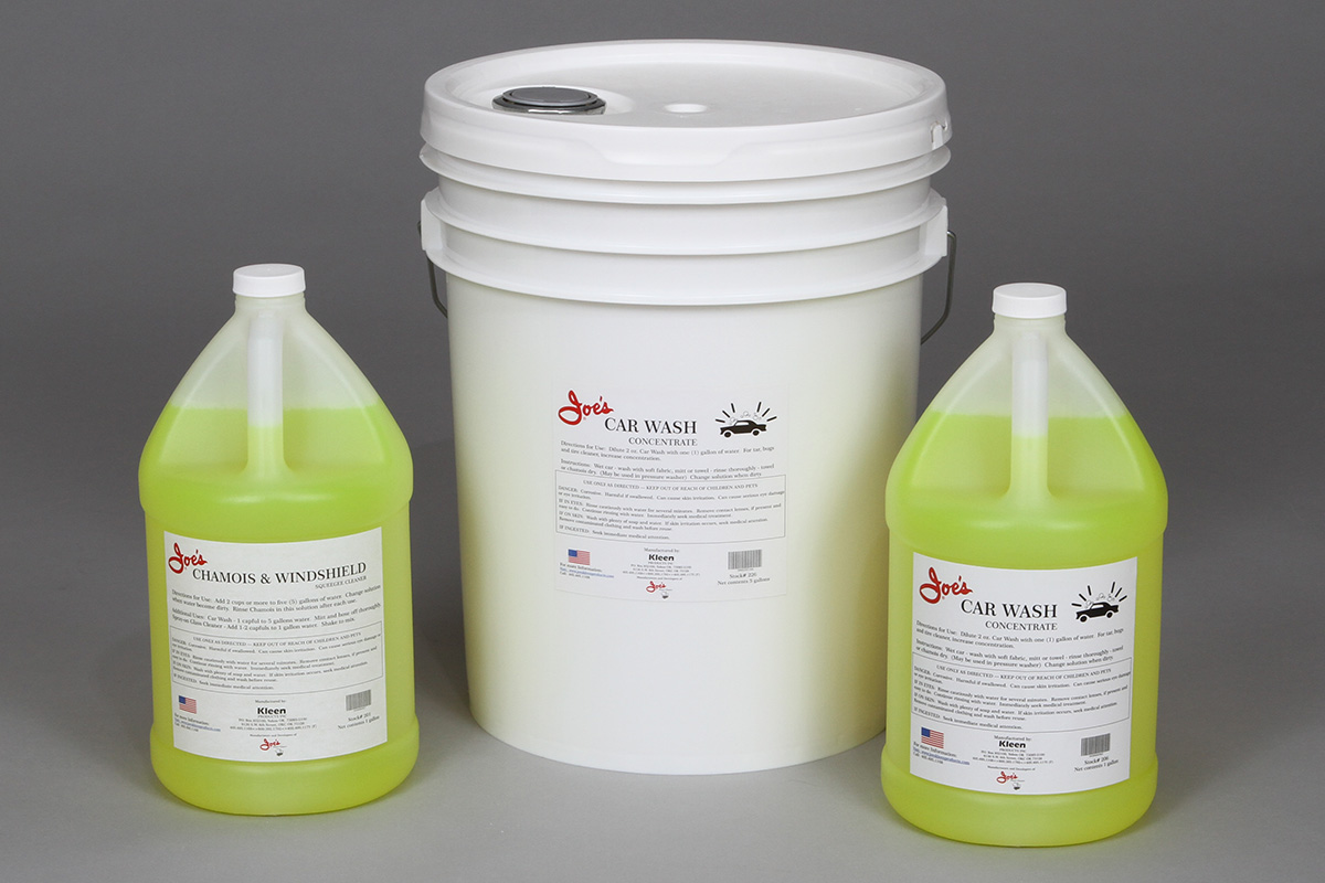 Joe's Chamois Cleaner & Car Wash Concentrate Group