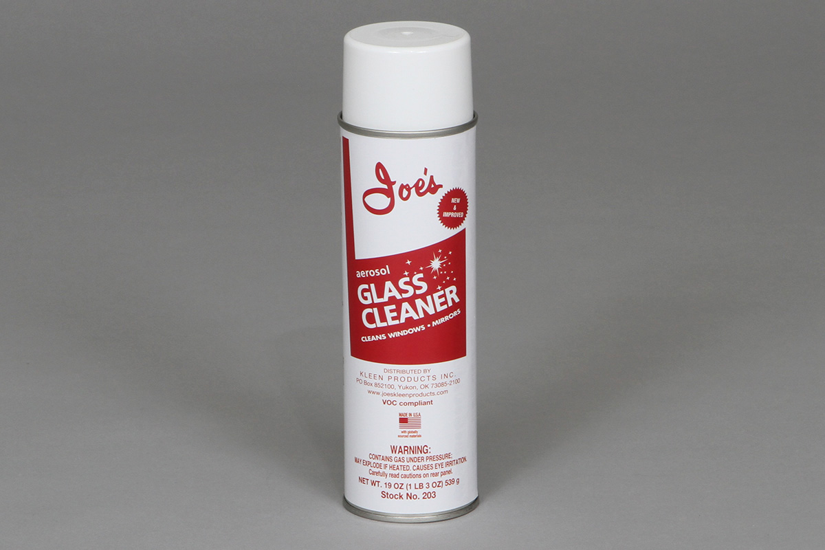 Joe's Glass Cleaner 203 Group