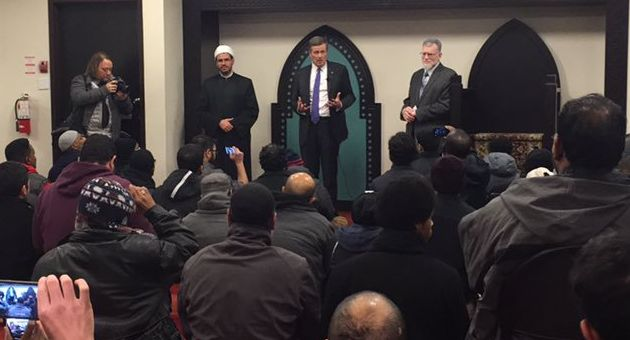 Toronto Mayor Tory calls to ban feminist Meghan Murphy after welcoming anti LGBT Imam