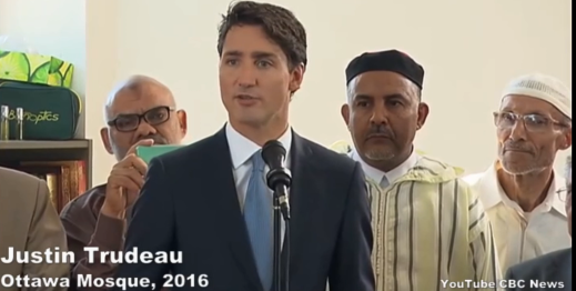 Justin Trudeau: Limiting Free expression Promotes Social Harmony & Public Safety