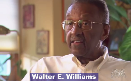 Professor Williams' View on Affirmative Action & the Declining Black Community in America