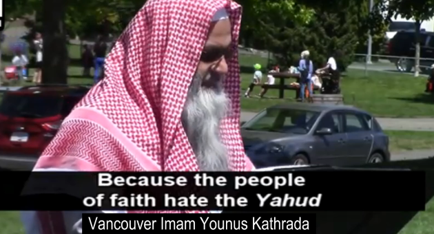 Canadian Imam: Attitude Toward Jews is a Mandated Religious Obligation in the Quran