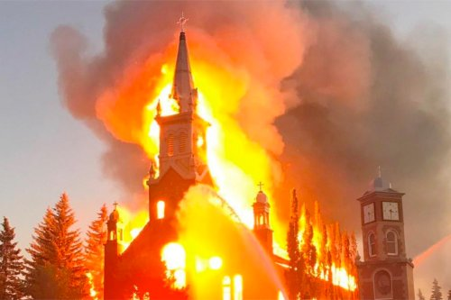 Trudeau: Canadians are Collectively Guilty –  Burning Churches Understandable