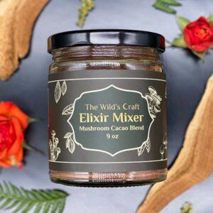 Mushroom Cacao Elixir Mixer