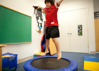 Autism Treatment & Gross Motor at Precision Brain Center in Raleigh, NC