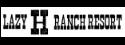 Lazy H Ranch Resort Logo