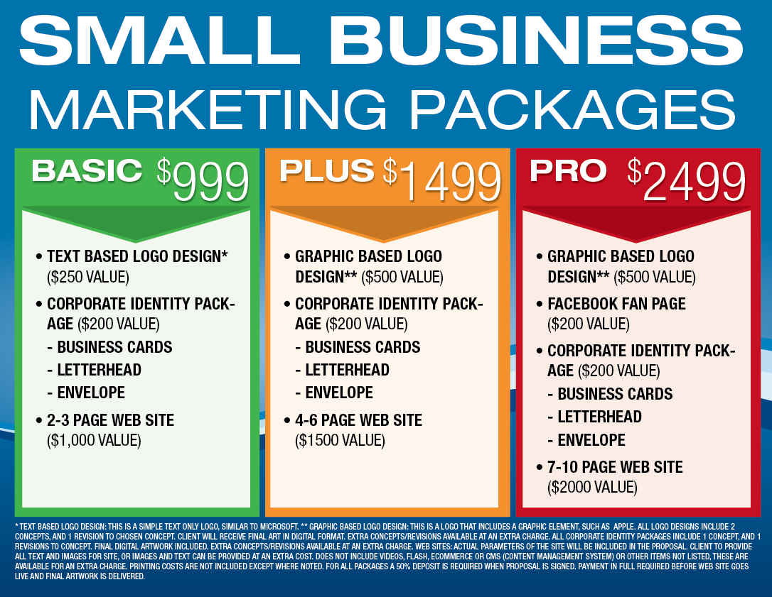 Small Business Marketing Packages