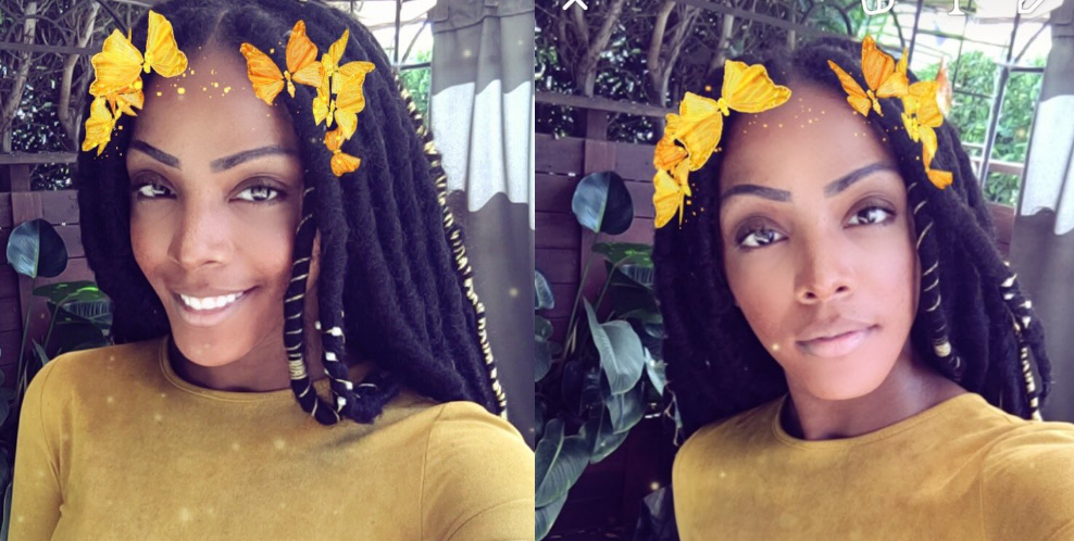 Dawn Richard in Faux Locs