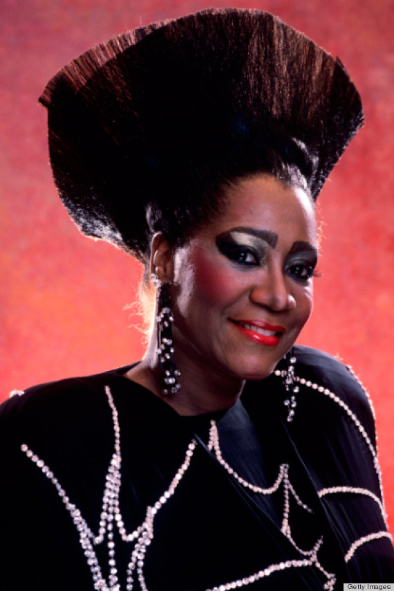 Patti labelle in intricate hair