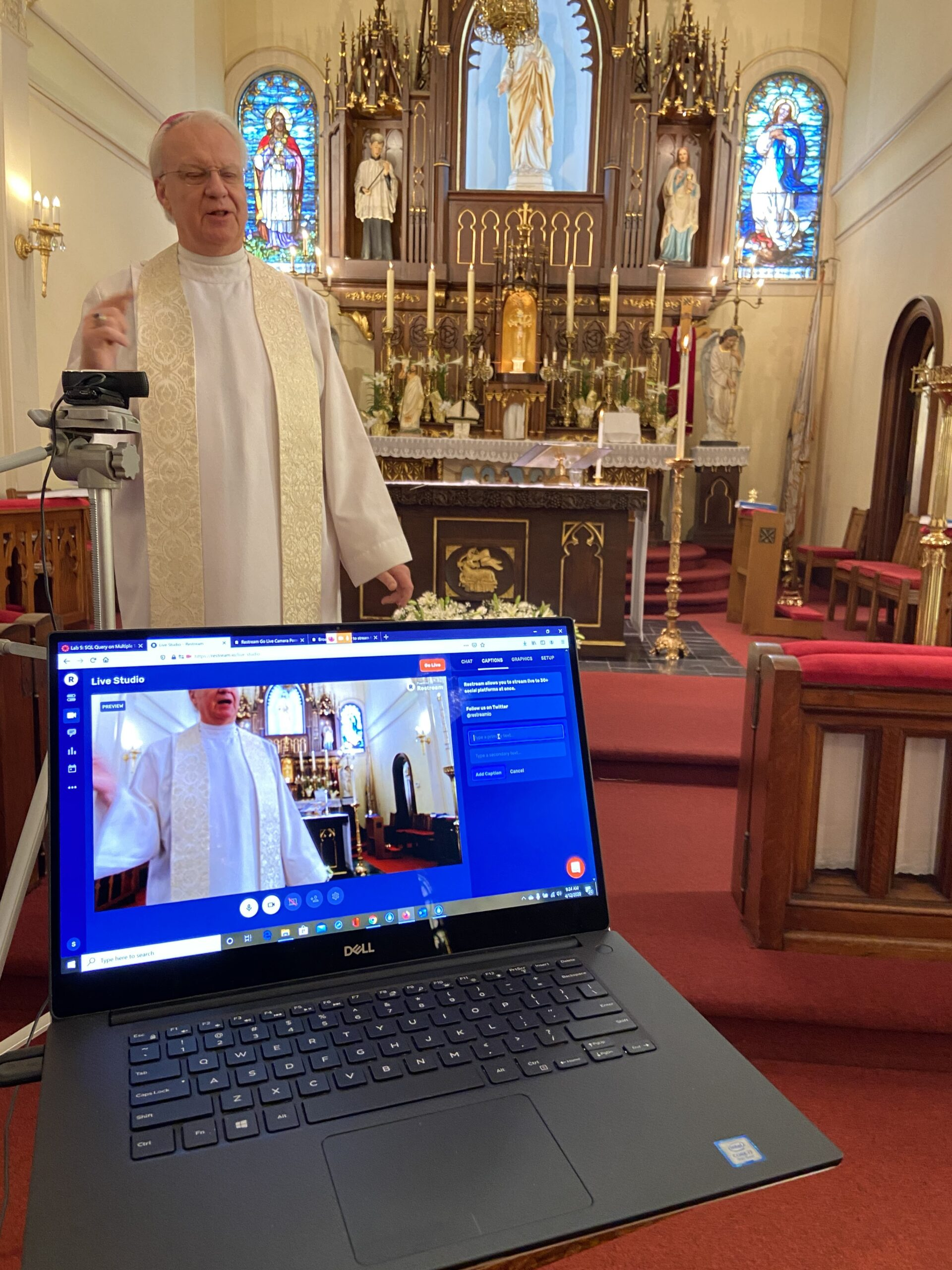 Streaming Services with Bishop Bernard Nowicki