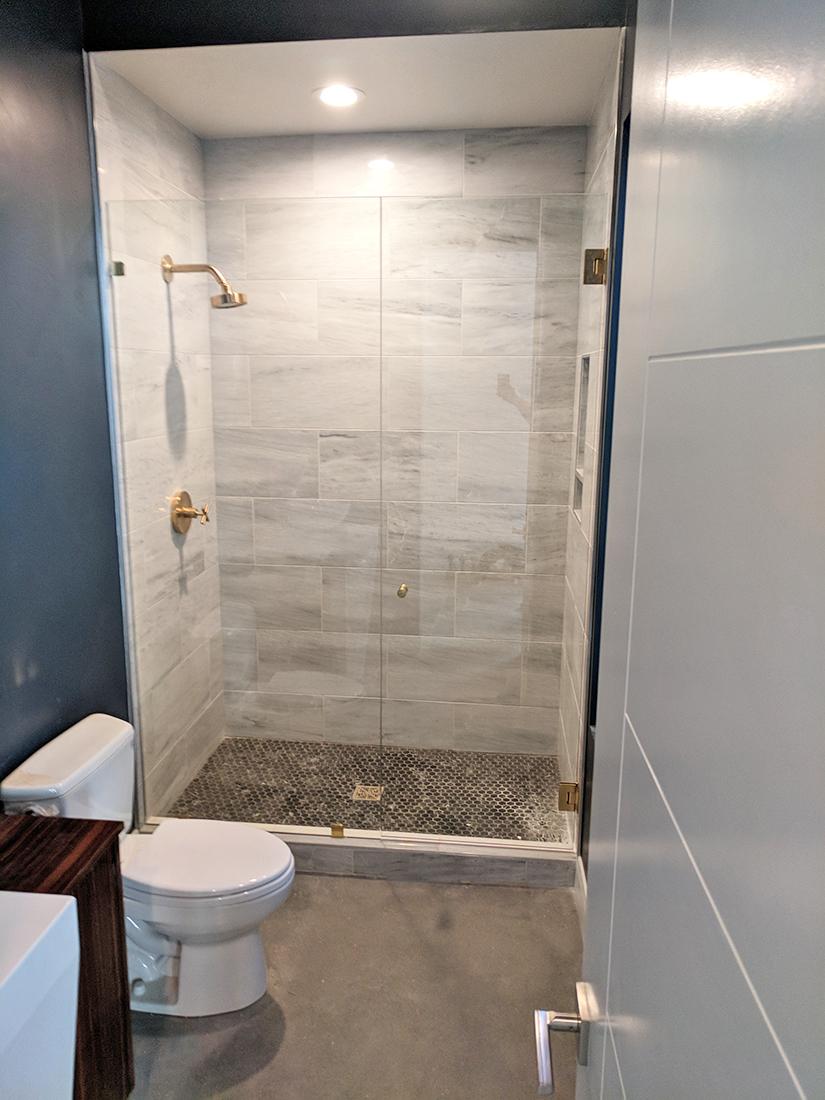Shower Glass Renovation