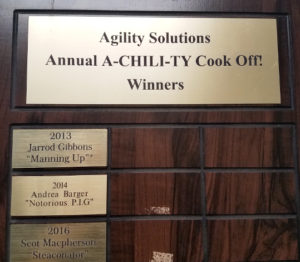 A-chili-ty cookoff winners