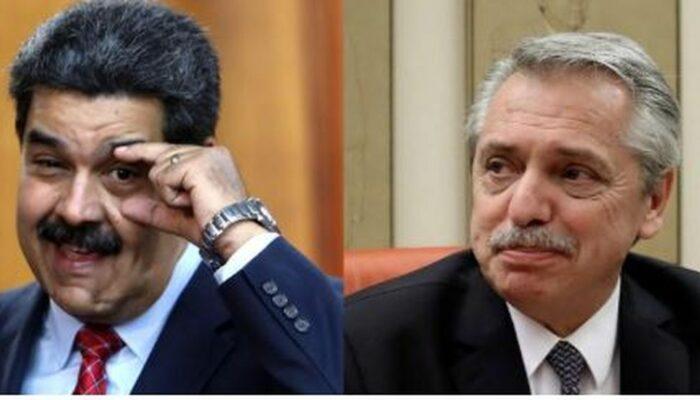 ¡Muy Amigos! El Mensaje De Maduro A Alberto Fernández Por Su Toma De Posesión En Argentina