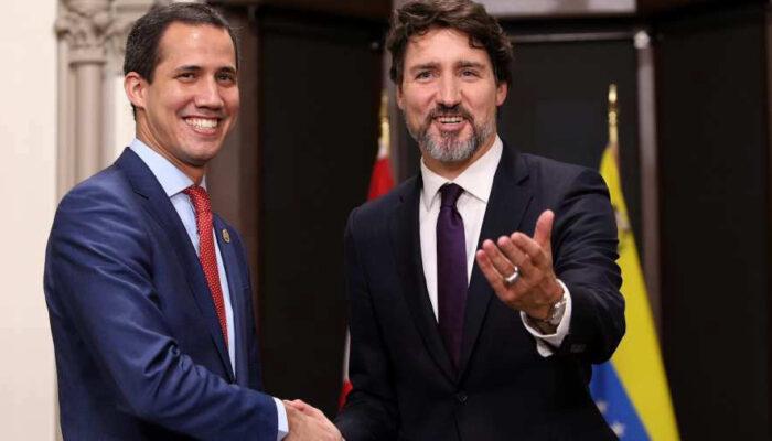 Parlamento Canadiense Rinde Honores A Juan Guaidó