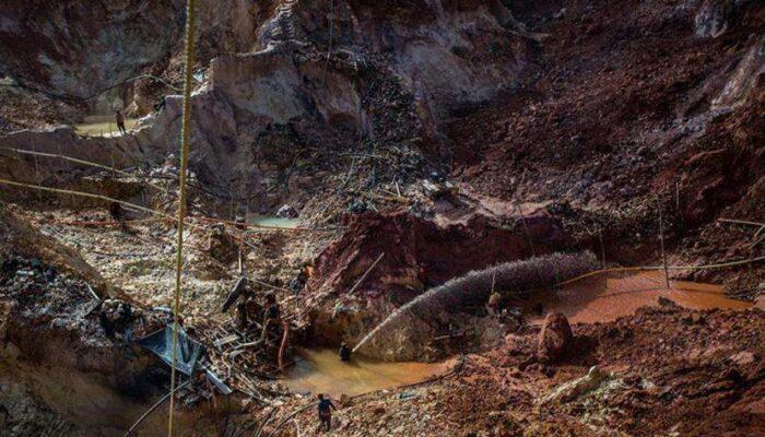 Habitantes De El Callao Reportan Derrumbe De Una Mina