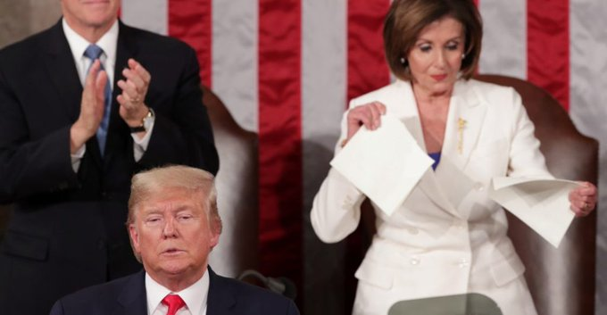 Trump Vs Pelosi: Las Tensiones En El Congreso De Los Estados Unidos