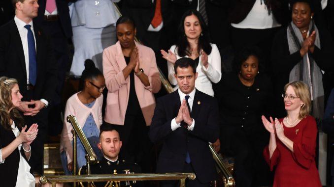 Juan Guaidó Recibió Ovación En El Congreso De Los Estados Unidos