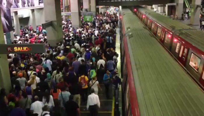 Metro De Caracas Presentó Nueva Falla En Su Sistema