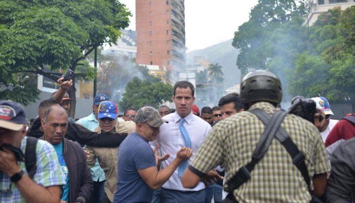 Juan Guaidó Llama A Una Nueva Movilización