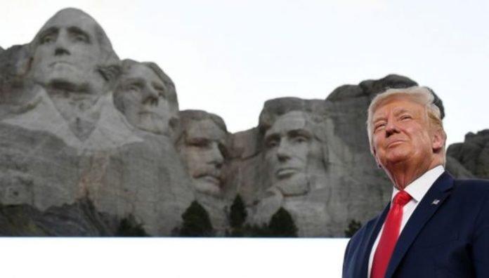 A Trump Le Parece Buena Idea Que Se Añada Su Rostro En El Monte Rushmore