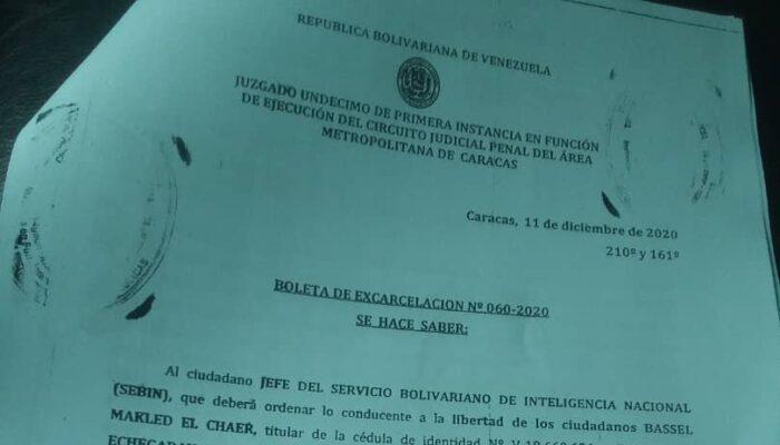Sebin Sigue Privando De Libertad A Ciudadanos Con Boleta De Excarcelación