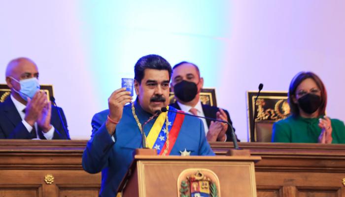 Maduro Promete Para Este Año Aumentar La Producción De Petróleo A 1,5 Millones De Barriles Diarios
