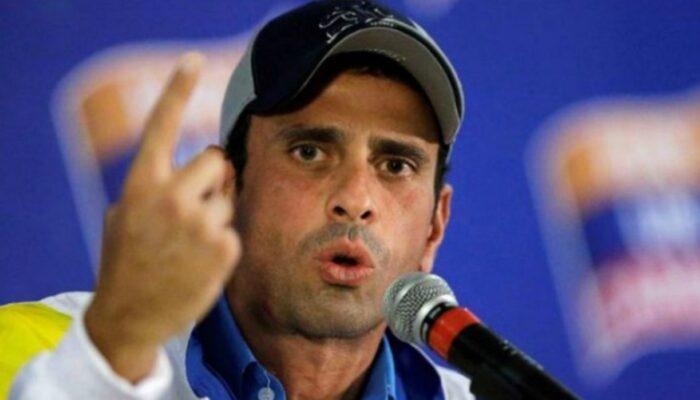 Henrique Capriles: «Urge Una Solución Política Negociada En Venezuela»