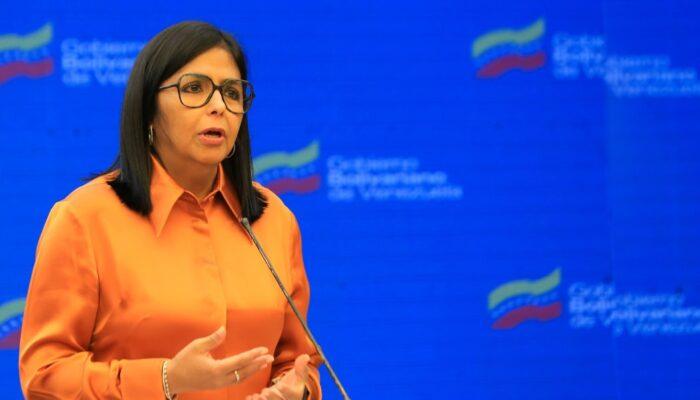 Delcy Rodríguez: Venezuela Se Mantiene En Alerta Ante Los Ejercicios Conjuntos Entre Guyana Y EE.UU