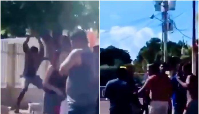 Detenidos Dos Hombres Que Agredieron A Una Mujer Y A Su Perro En Disputa Callejera