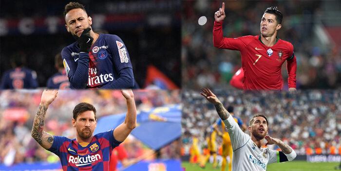 Messi, Neymar, Cristiano Y Ramos Los Mejores Futbolistas De La Década
