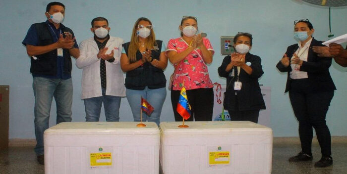 Lacava Informó Que Llegaron Las Vacunas A Carabobo