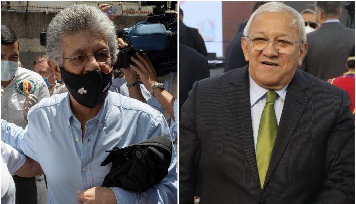 Henry Ramos Allup Y Bernabé Gutiérrez Mantienen Conversaciones Para Presentar Candidaturas únicas De Acción Democrática