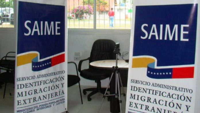 Oficinas Del Saime Estarán Habilitadas Para Trámites De Cedulación Y Pasaporte