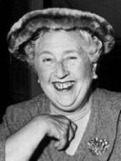 Agatha Christie image for February presentation