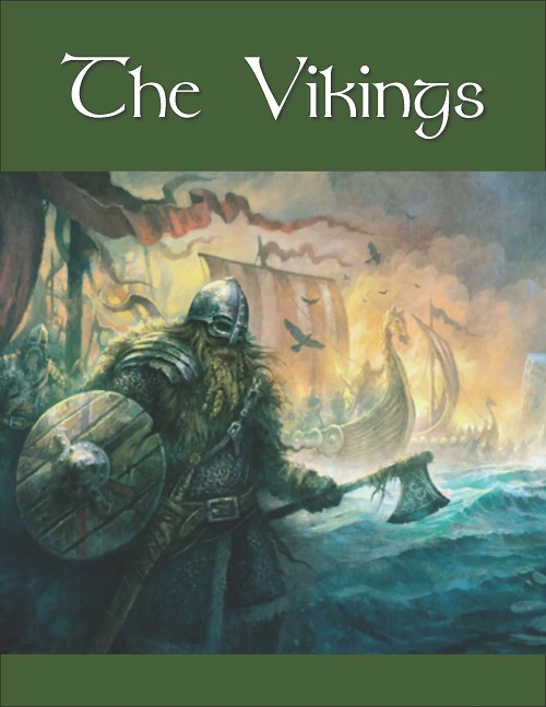 Vikings Poster for Lianne Harris Presentation