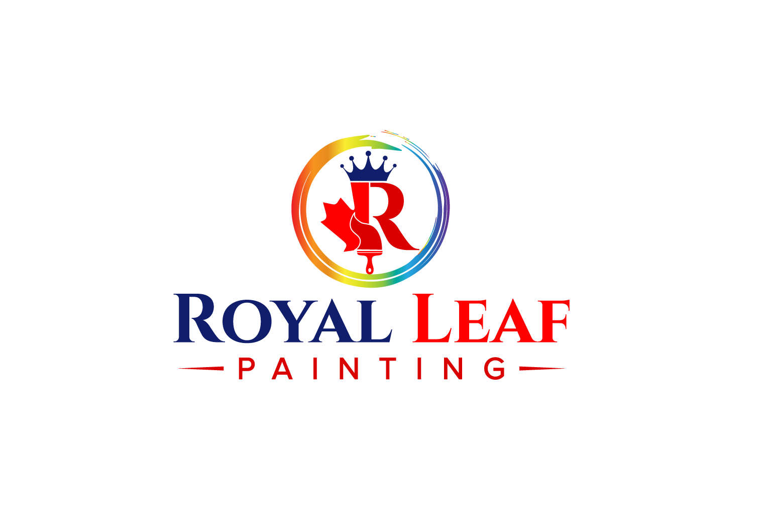 Royal Leaf Painting