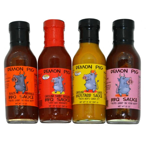 Demon Pig BBQ Sauces Gift Pack