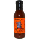 Demon Pig Blaze Orange Blaze BBQ Sauce